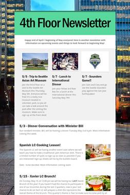4th Floor Newsletter