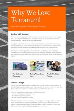 Why We Love Terrarum!