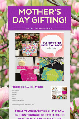 Mother's Day Gifting!