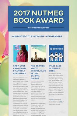 2017 Nutmeg Book Award