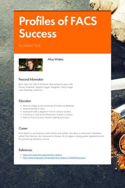 Profiles of FACS Success