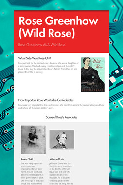 Rose Greenhow (Wild Rose)