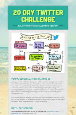 20 Day Twitter Challenge