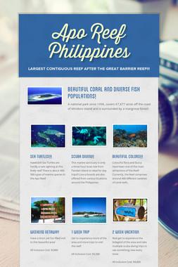 Apo Reef Philippines