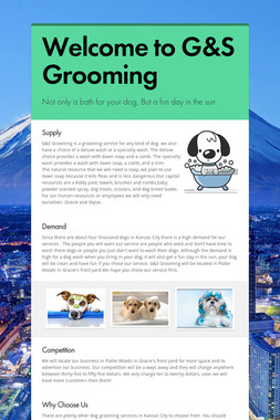 Welcome to G&S Grooming