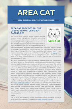 Area Cat