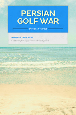 Persian Golf War