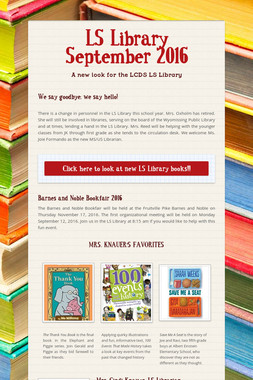 LS Library September 2016