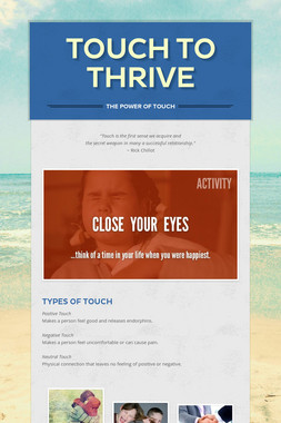 Touch to Thrive