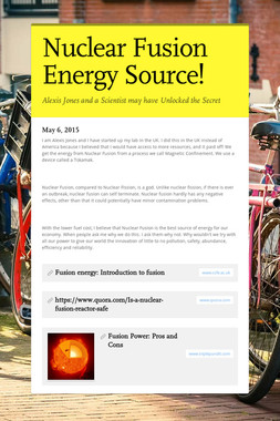 Nuclear Fusion Energy Source!