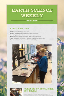 Earth Science Weekly
