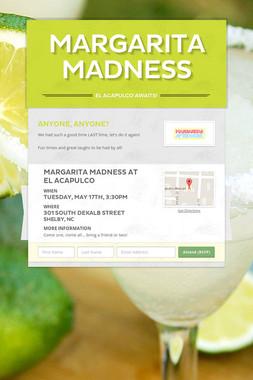 Margarita Madness
