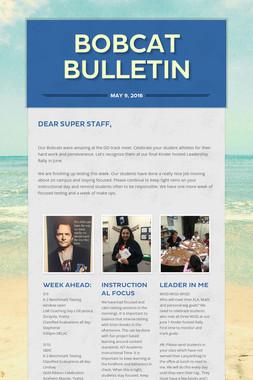 Bobcat Bulletin