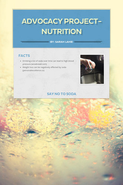 Advocacy Project- Nutrition