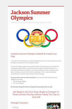 Jackson Summer Olympics