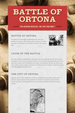 Battle of Ortona