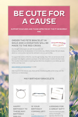 Be Cute for a Cause