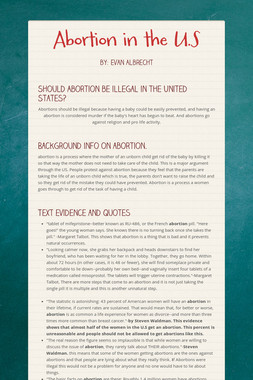 Abortion in the U.S