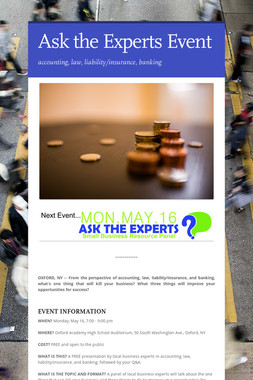 Ask the Experts Event