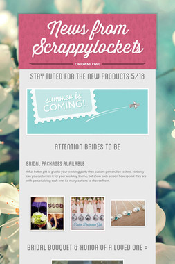 News from Scrappylockets