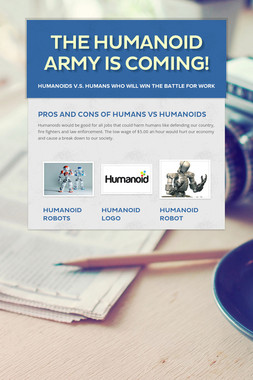 The Humanoid Army is Coming!