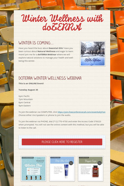 Winter Wellness with doTERRA