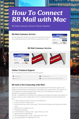 How To Connect RR Mail with Mac