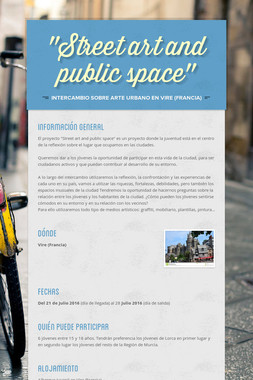 """""""Street art and public space"""""""