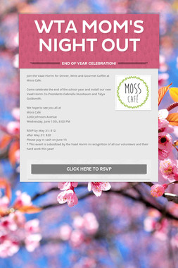 WTA Mom's Night Out