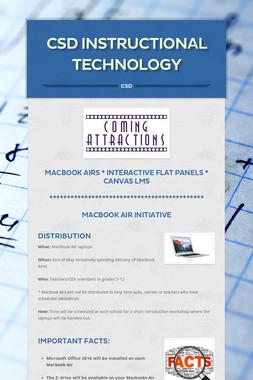 CSD Instructional Technology