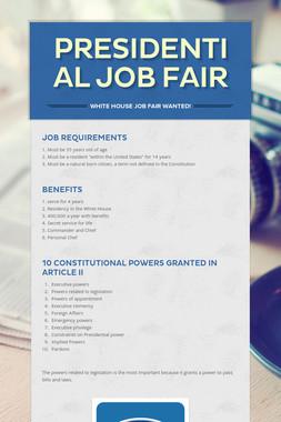 Presidential Job Fair