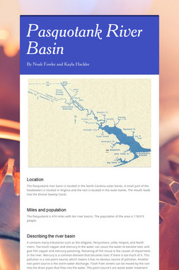 Pasquotank River Basin