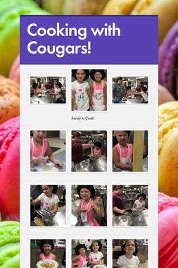 Cooking with Cougars!