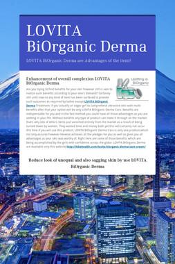 LOVITA BiOrganic Derma