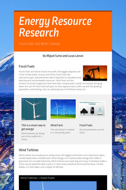 Energy Resource Research