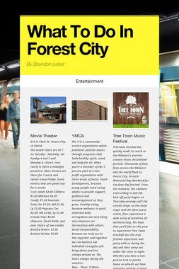 What To Do In Forest City