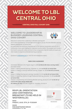 Welcome to LBL Central Ohio