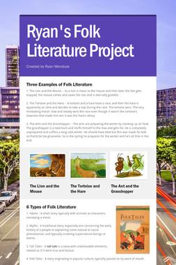 Ryan's Folk Literature Project