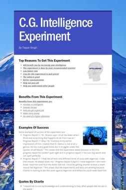 C.G. Intelligence Experiment
