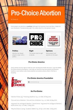 Pro-Choice Abortion