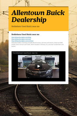 Allentown Buick Dealership