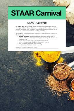 STAAR Carnival