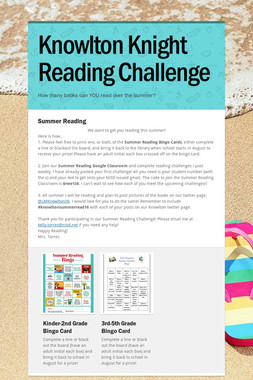 Knowlton Knight Reading Challenge