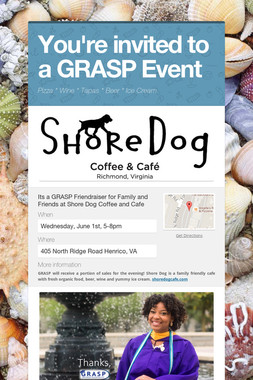 You're invited to a GRASP Event