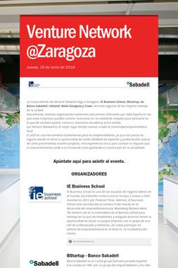 Venture Network @Zaragoza