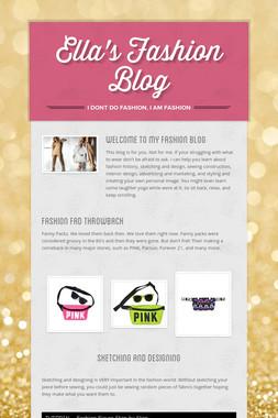 Ella's Fashion Blog