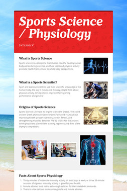 Sports Science / Physiology
