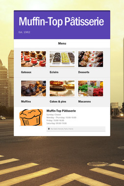 Muffin-Top Pâtisserie
