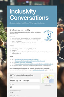 Inclusivity Conversations