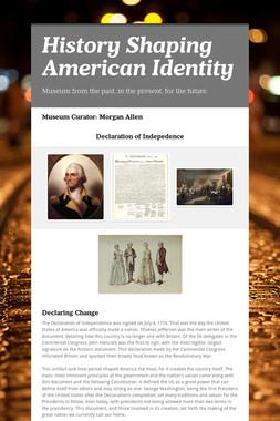 History Shaping American Identity